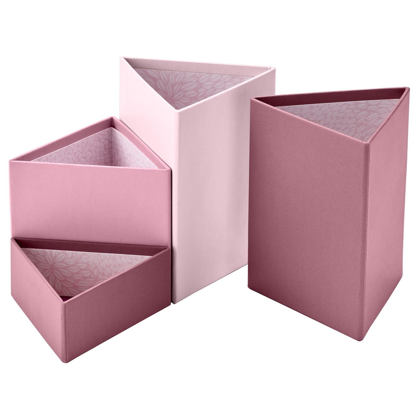 eklog pot crayons lot de 4 rose ikea. Black Bedroom Furniture Sets. Home Design Ideas
