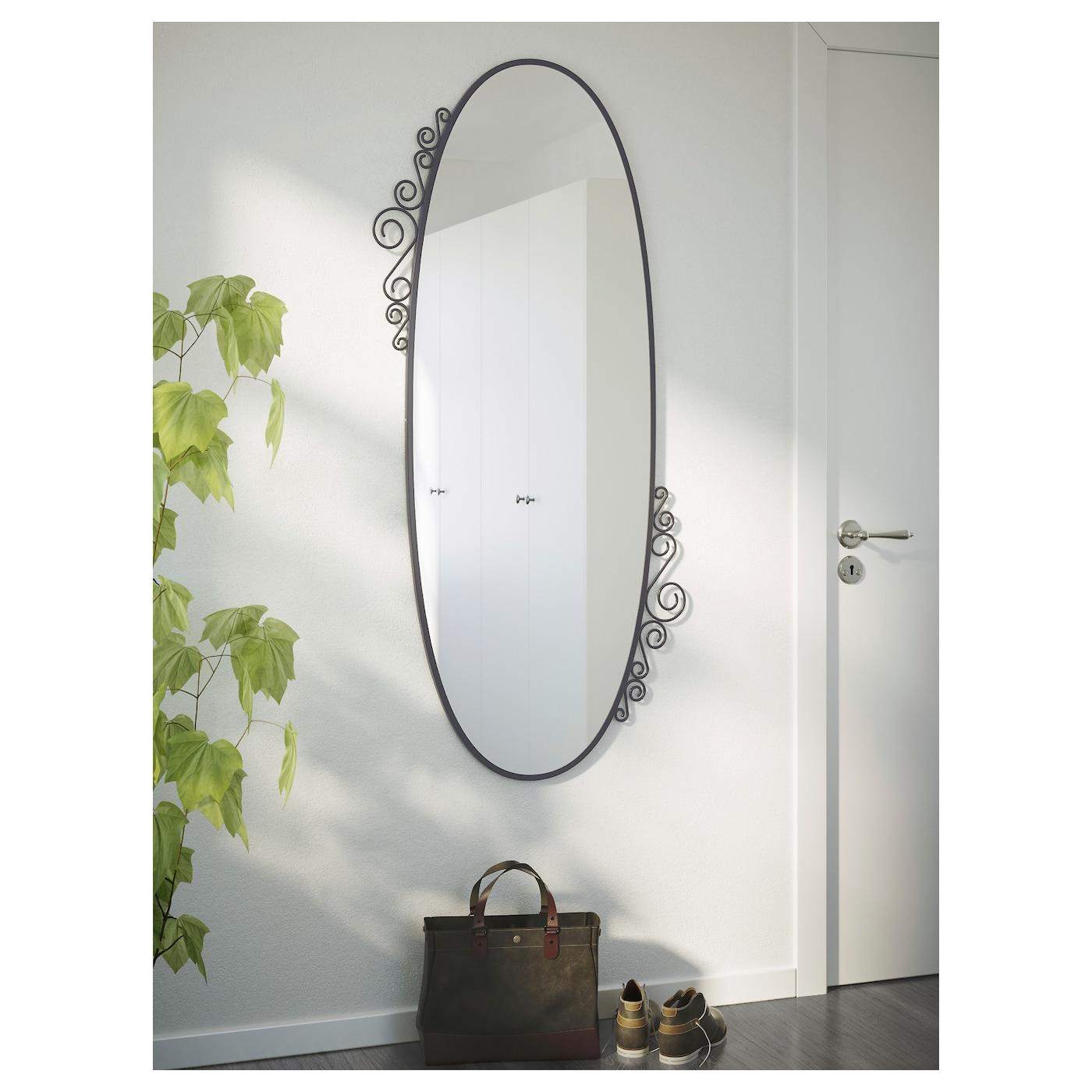 Ekne miroir ovale 70 x 150 cm ikea - Specchio ovale ikea ...