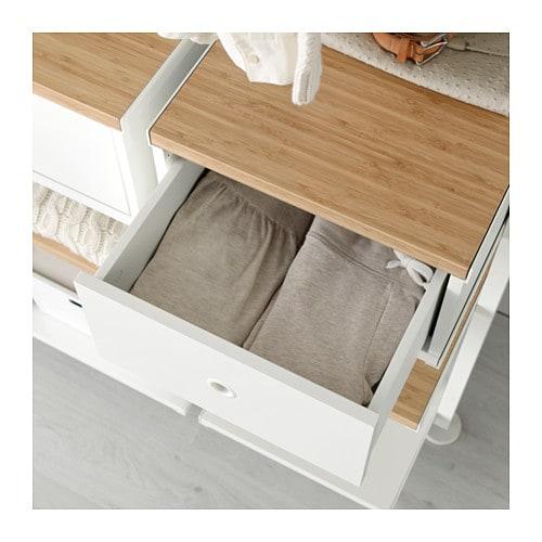 elvarli tiroir blanc 40 x 51 cm ikea. Black Bedroom Furniture Sets. Home Design Ideas