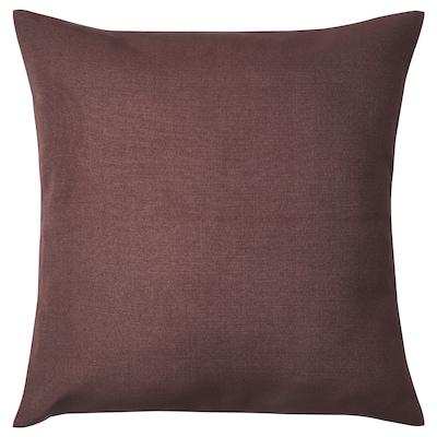 EMMASTINA Housse de coussin, brun, 40x40 cm