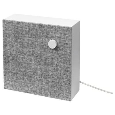 ENEBY Enceinte bluetooth, blanc, 30x30 cm