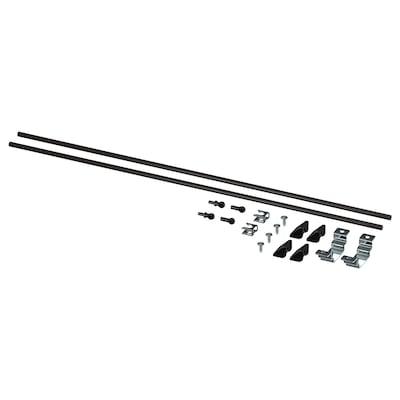 ENHET Kit de montage îlot cuisine, anthracite, 60 cm