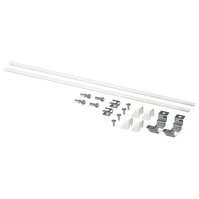 ENHET Kit de montage îlot cuisine, blanc, 40 cm