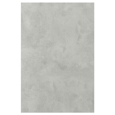 ENHET Porte, imitation ciment, 40x60 cm