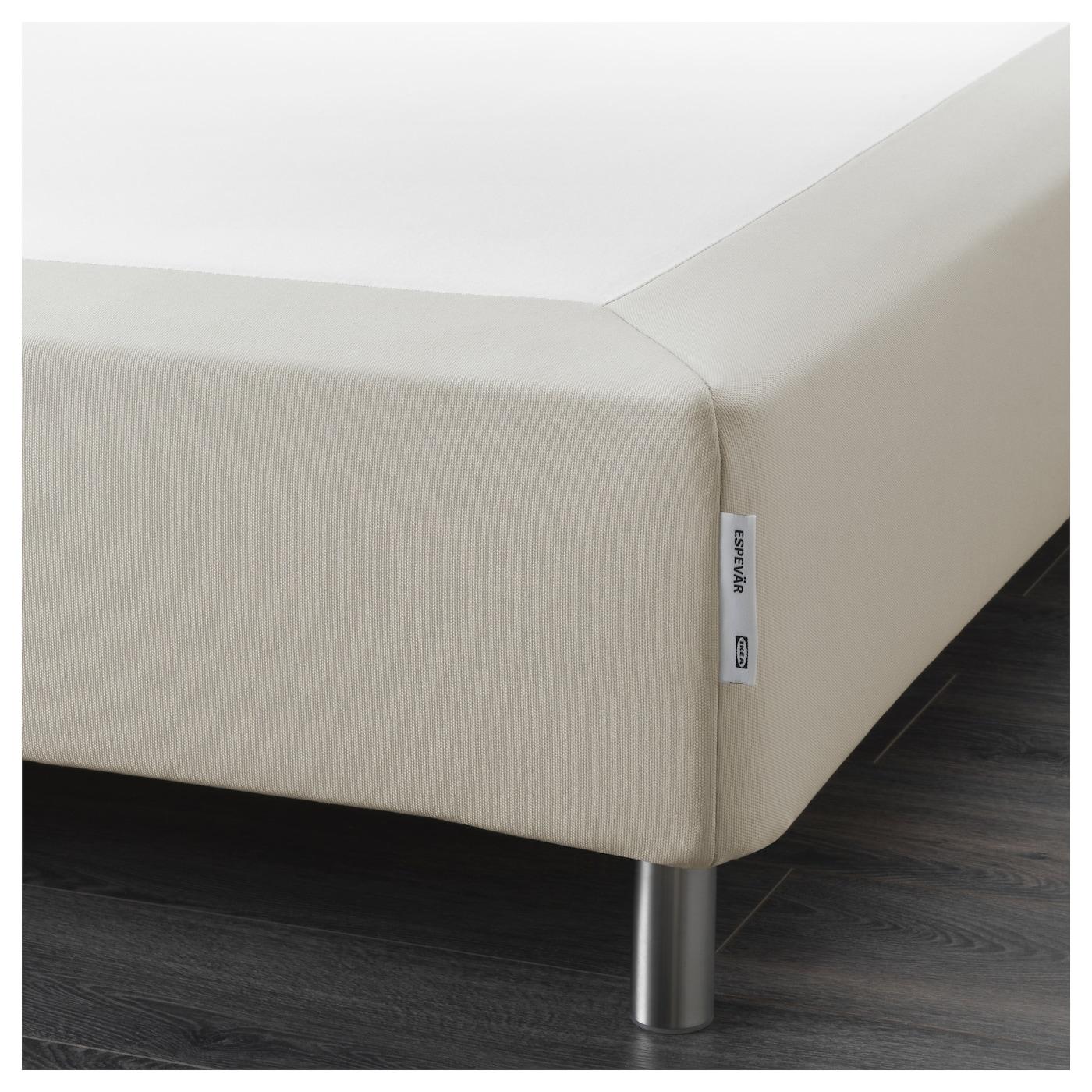 espev r sommier ressorts avec pieds beige 160x200 cm ikea. Black Bedroom Furniture Sets. Home Design Ideas