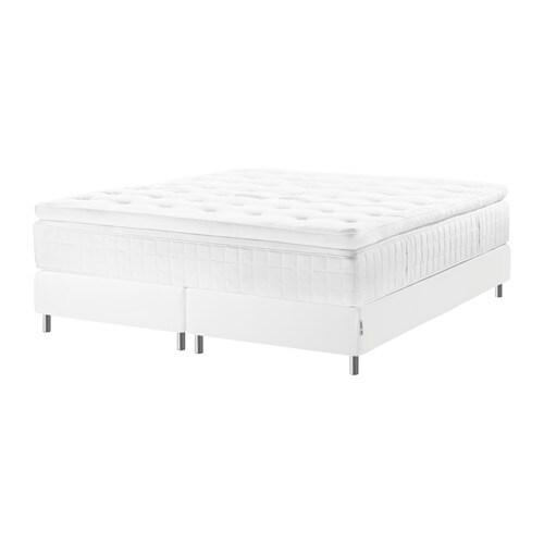 espev r lit sommier hyllestad mi ferme tustna blanc 180x200 cm bjorli 10 cm ikea. Black Bedroom Furniture Sets. Home Design Ideas