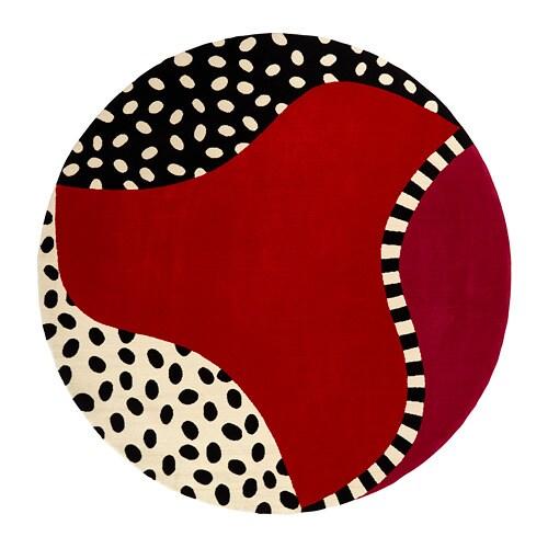 Fargstark Tapis Poils Ras Rouge 200 Cm Ikea