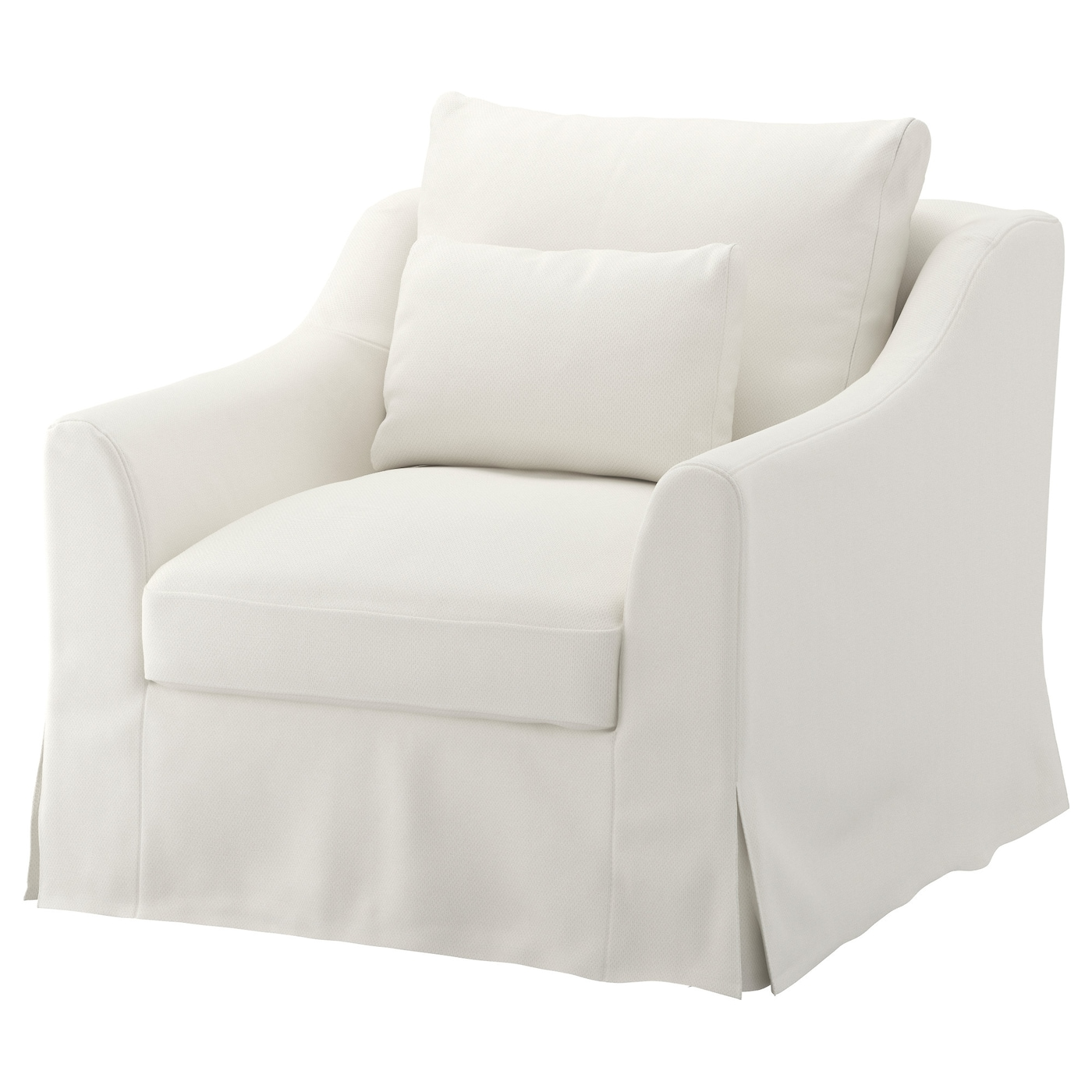 f rl v housse pour fauteuil flodafors blanc ikea. Black Bedroom Furniture Sets. Home Design Ideas