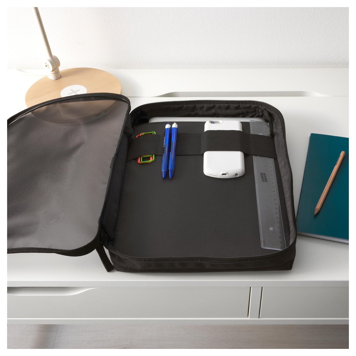 F rfina sacoche pour portable noir ikea for Panier d ordinateur portable ikea