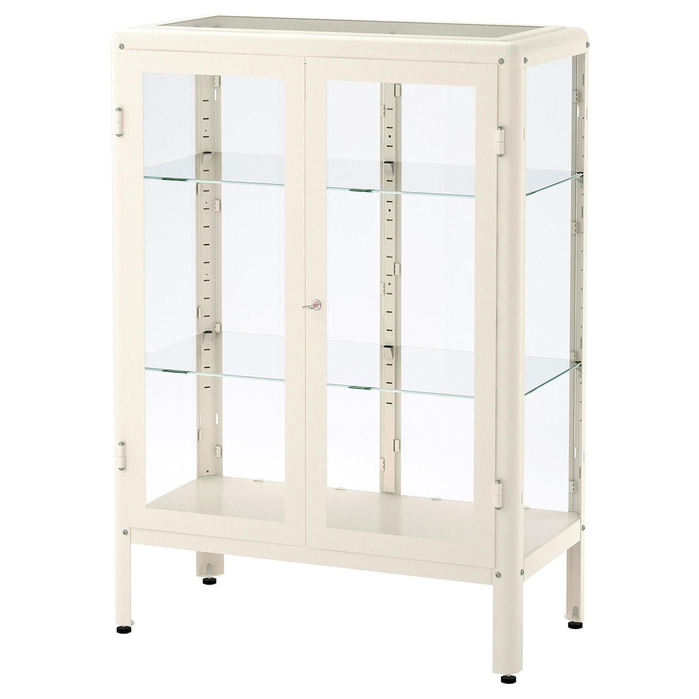 fabrikÖr vitrine blanc 81 x 113 cm - ikea