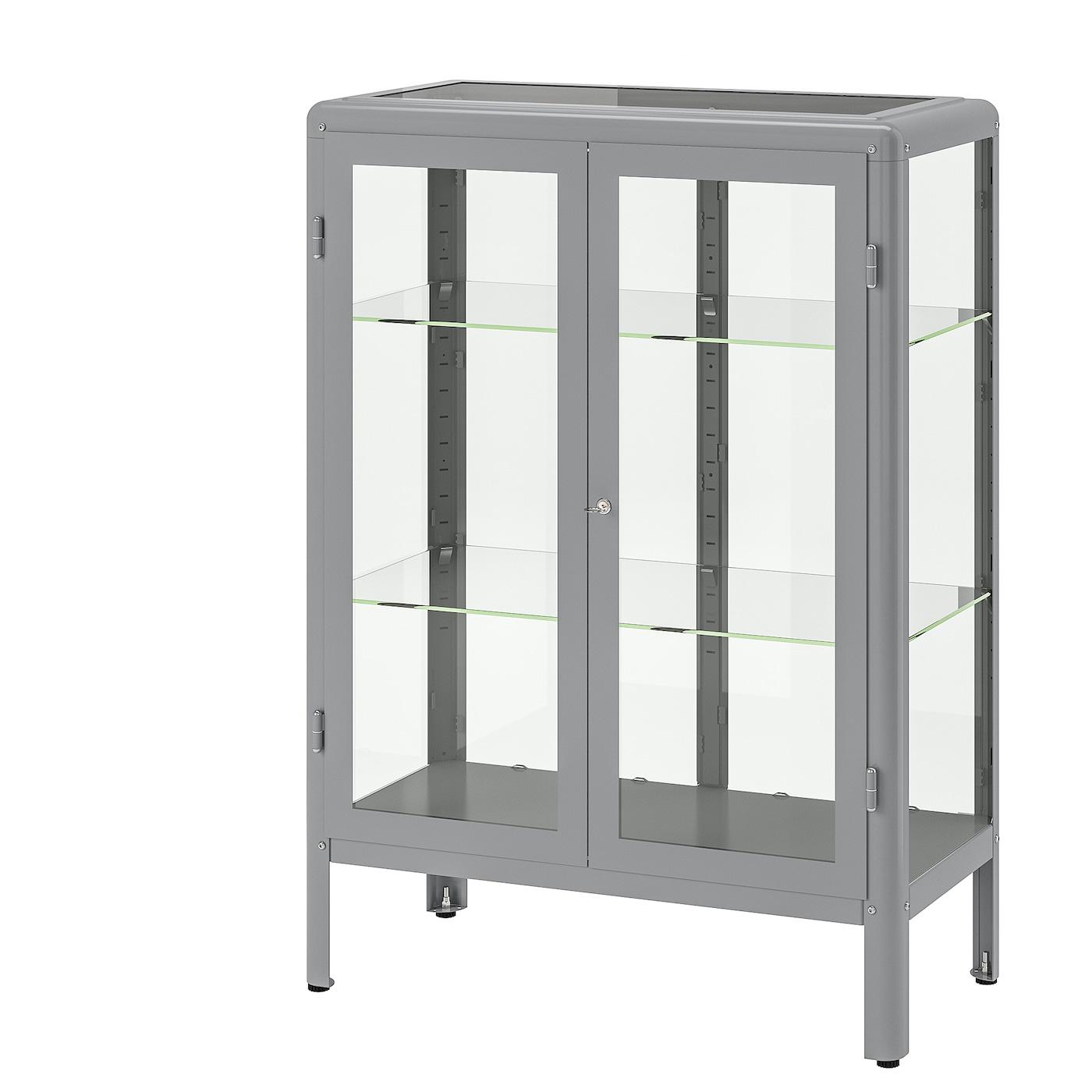 fabrik r vitrine gris 81 x 113 cm ikea. Black Bedroom Furniture Sets. Home Design Ideas