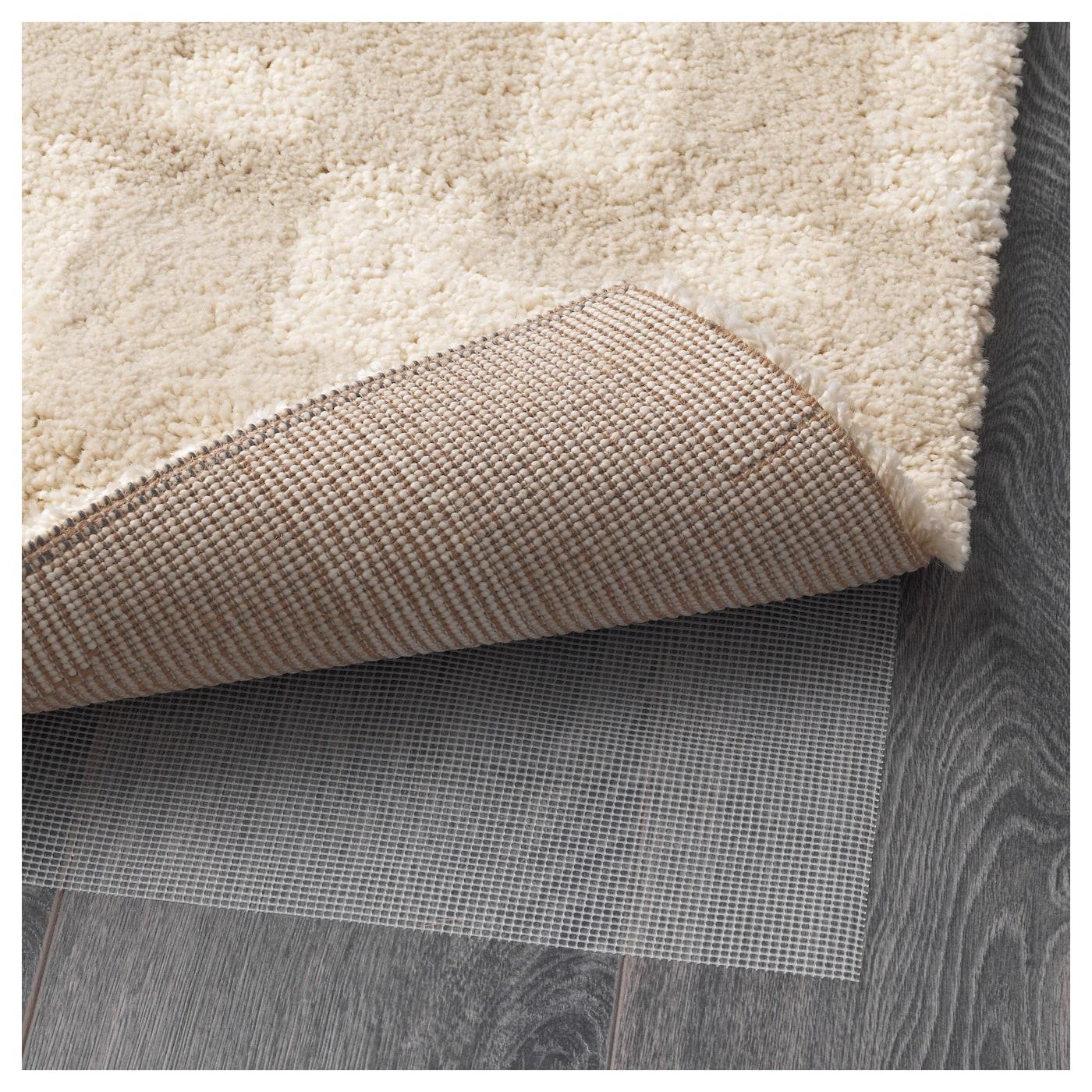 fakse tapis poils hauts blanc cass 200x250 cm ikea. Black Bedroom Furniture Sets. Home Design Ideas
