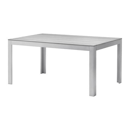 Falster table ext rieur gris ikea - Ikea table de jardin ...