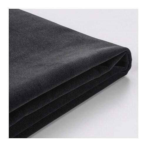f rl v housse canap 3 pl djuparp gris fonc ikea. Black Bedroom Furniture Sets. Home Design Ideas