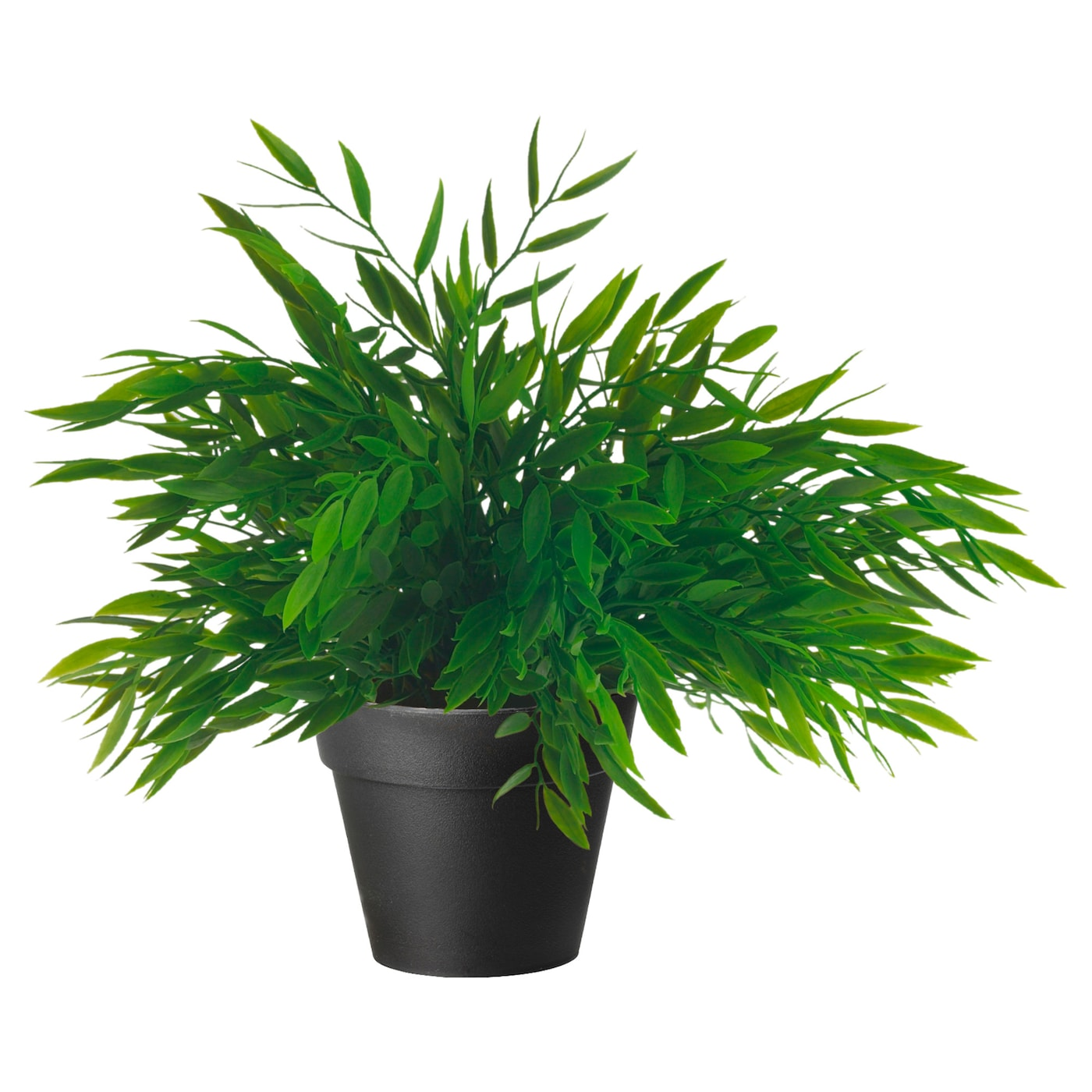 Fejka plante artificielle en pot bambou d 39 int rieur 10 cm for Pot plantes interieur