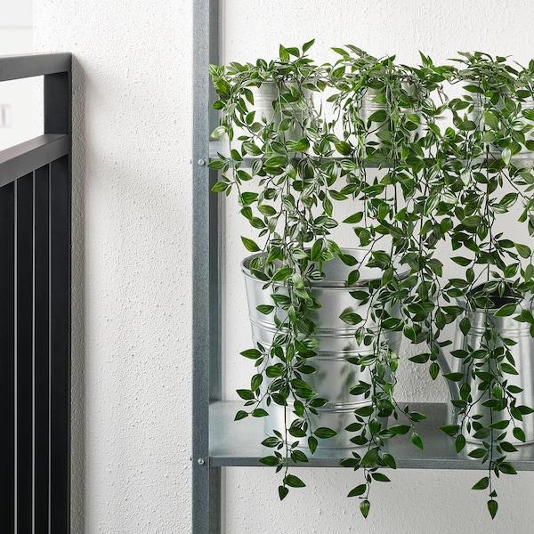 FEJKA Plante artificielle en pot, intérieur/extérieur/à accrocher, 9 cm