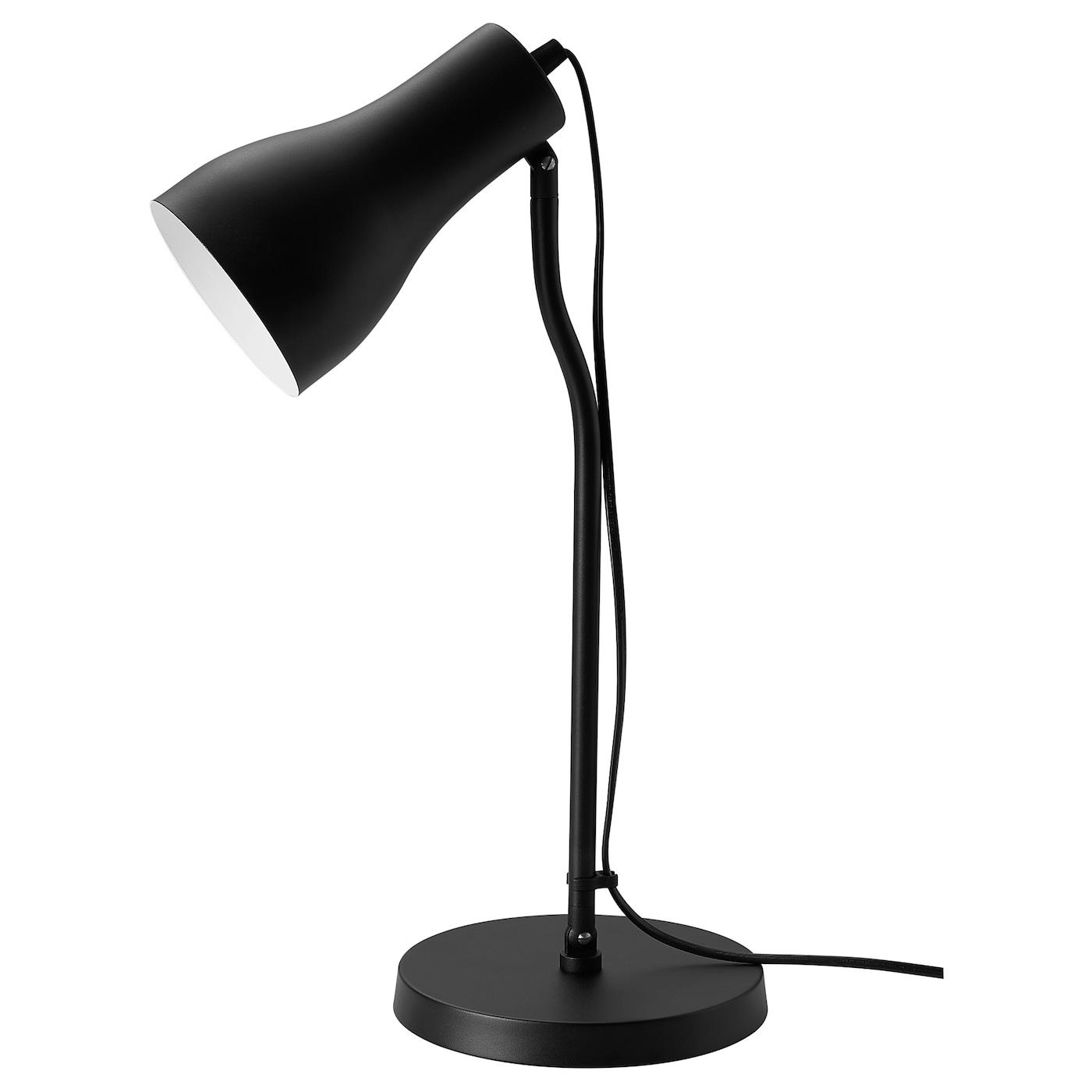 FINNSTARR Lampe de bureau, noir   IKEA