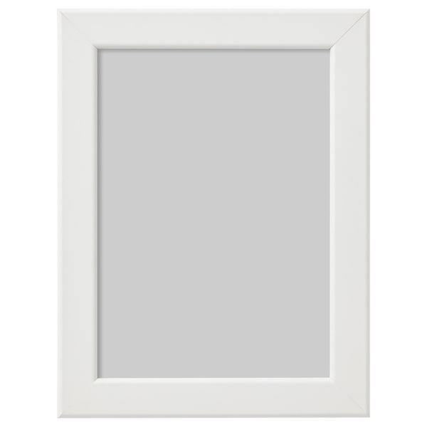 FISKBO Cadre, blanc, 13x18 cm