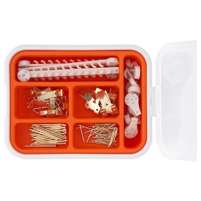 FIXA Kit crochets pour tableau, 116pces