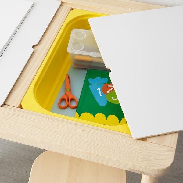FLISAT Table enfant, 83x58 cm