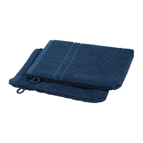 Fr jen gant de toilette bleu fonc ikea - Porte gant de toilette ...