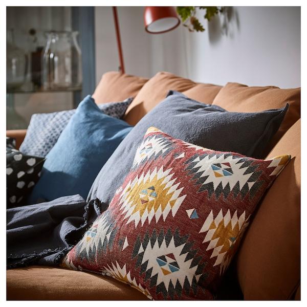FRANSINE Housse de coussin, multicolore, 50x50 cm