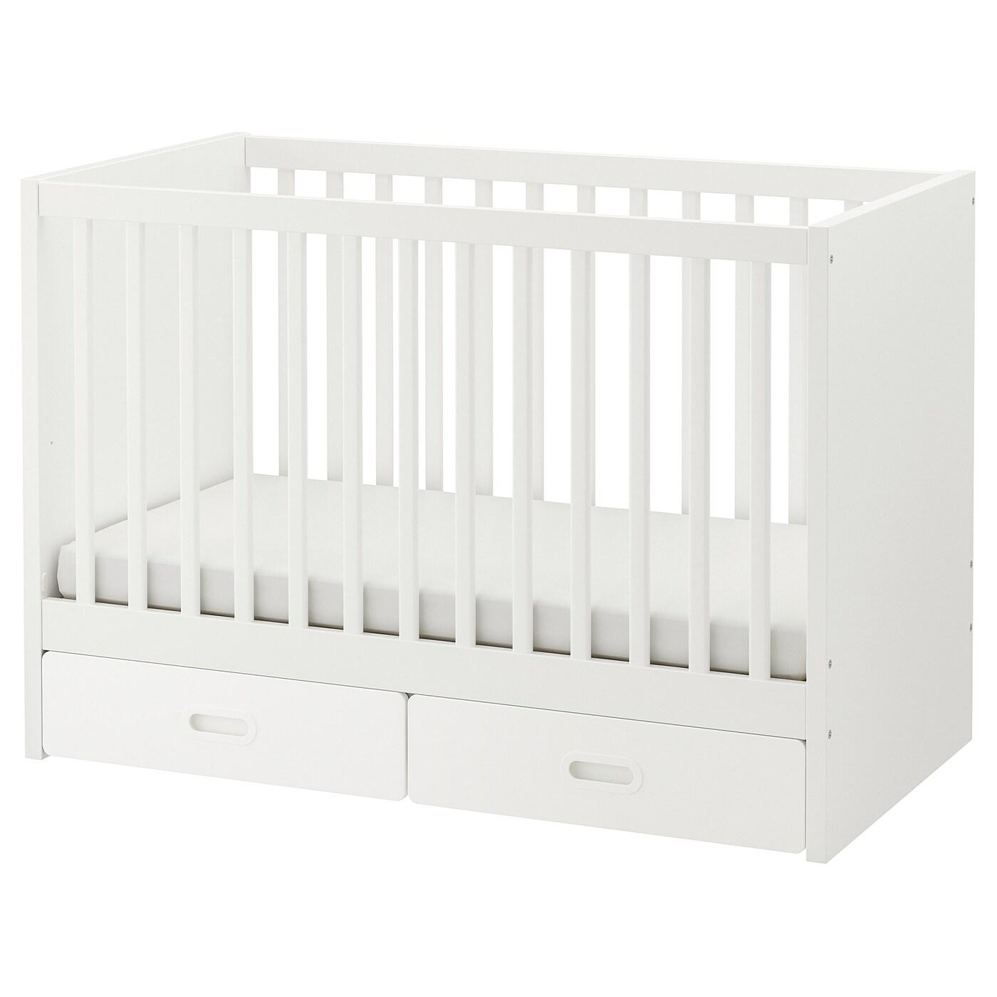 FRITIDSSTUVA Lit Enfant à Tiroirs Blanc X Cm IKEA - Tiroir de lit ikea