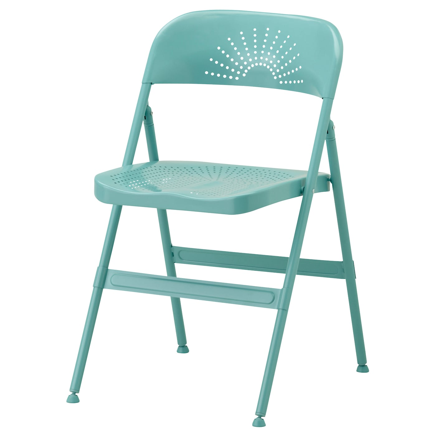 Frode chaise pliante turquoise ikea for Chaise pliante ikea