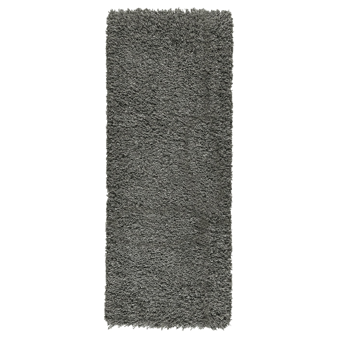 g ser tapis poils hauts gris fonc 56x150 cm ikea. Black Bedroom Furniture Sets. Home Design Ideas