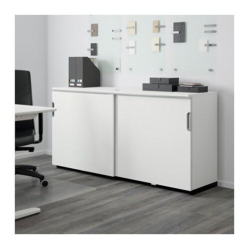 GALANT Élément à Portes Coulissantes Blanc X Cm IKEA - Ikea portes coulissantes