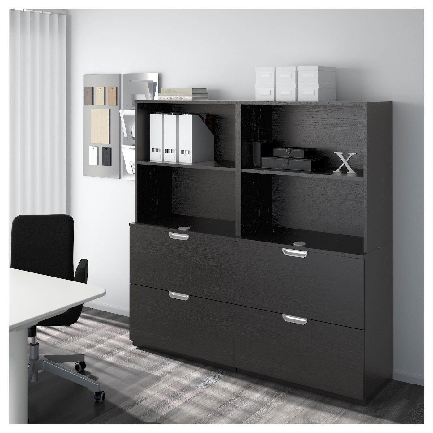 galant l ment compl mentaire brun noir 160x80 cm ikea. Black Bedroom Furniture Sets. Home Design Ideas