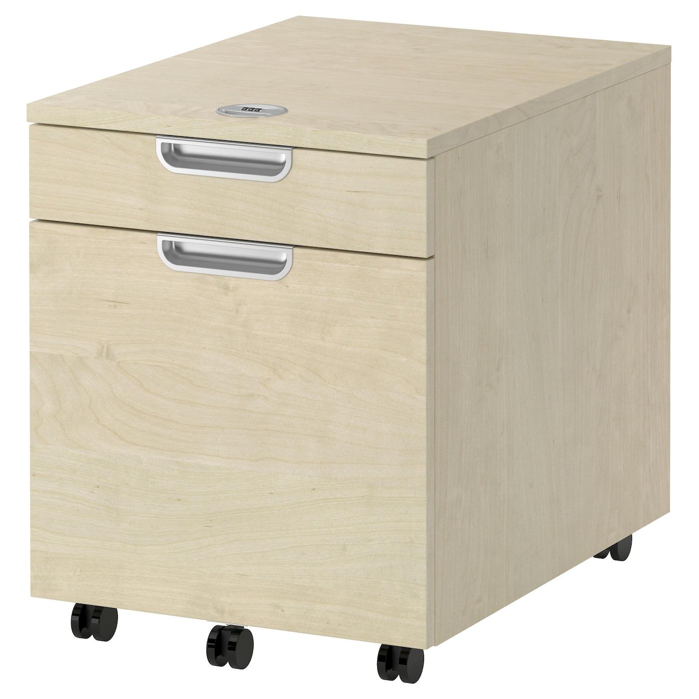 galant caisson dossiers suspendus plaqu bouleau 45x55. Black Bedroom Furniture Sets. Home Design Ideas