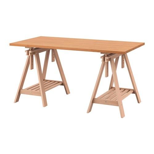 Bureau bois massif ikea - Table bois massif ikea ...