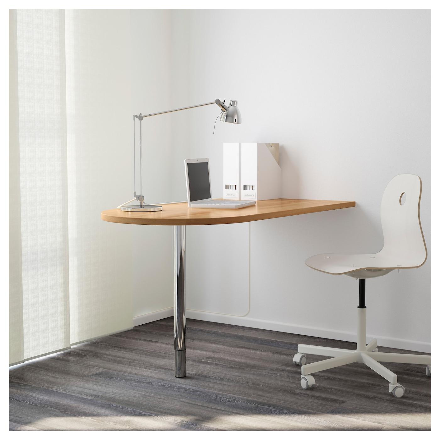 Gerton Pied Reglable Chrome Ikea