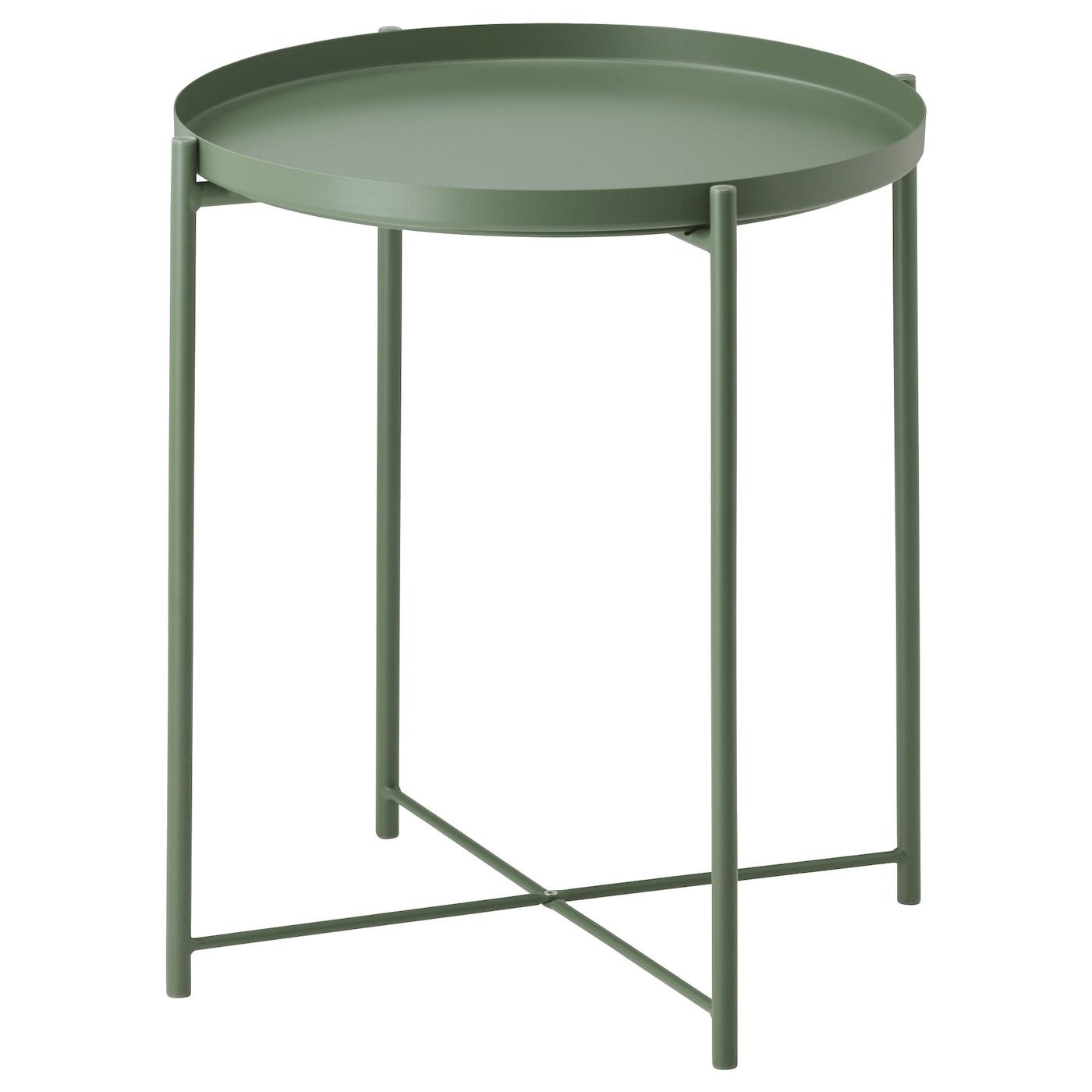 Gladom table plateau vert fonc 45x53 cm ikea - Ikea plateau de table ...
