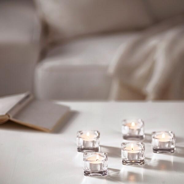 GLIMMA Bougie chauffe-plat non parfumée