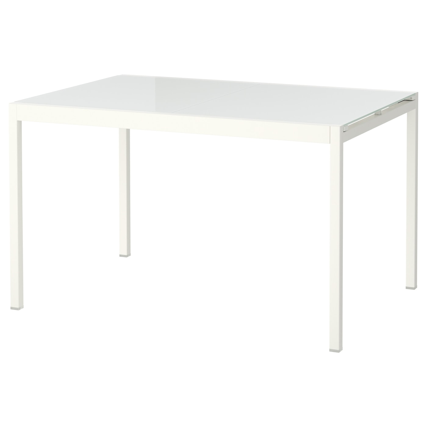 Glivarp table extensible blanc 125 188x85 cm ikea for Ikea table de salle a manger