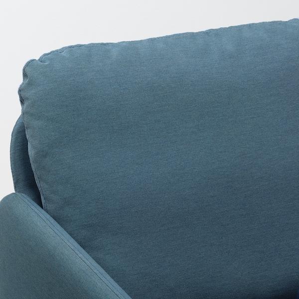 GLOSTAD Canapé 2 places, Knisa bleu moyen
