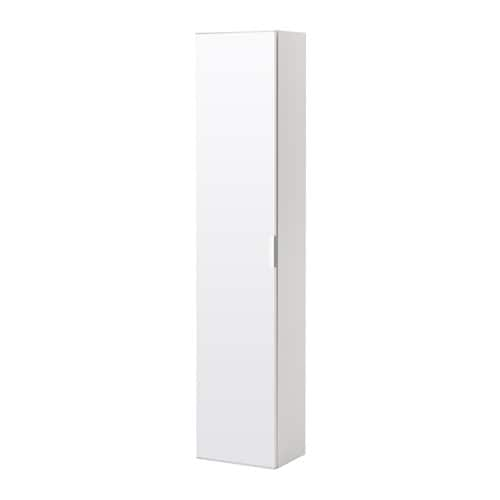 godmorgon armoire avec porte miroir blanc ikea. Black Bedroom Furniture Sets. Home Design Ideas