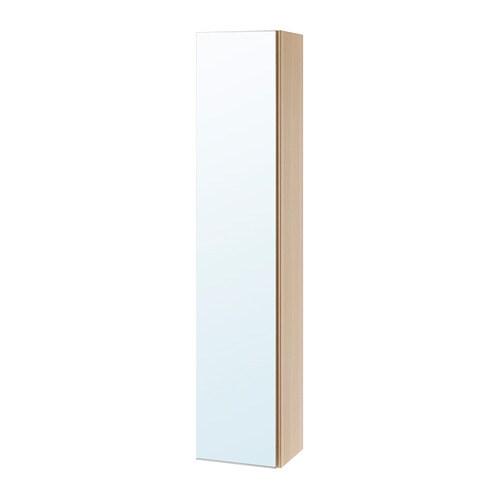 Godmorgon Armoire Avec Porte Miroir Effet Chêne Blanchi 40 X 32 X