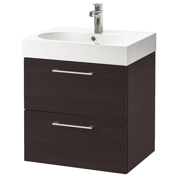 IKEA GODMORGON / BRÅVIKEN Meuble lavabo 2tir