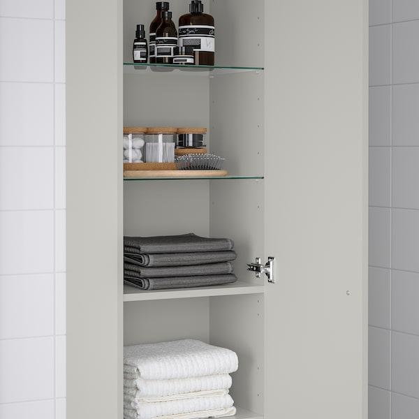 GODMORGON Colonne, Gillburen gris clair, 40x32x192 cm