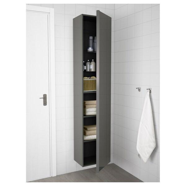 GODMORGON Colonne - brillant gris - IKEA