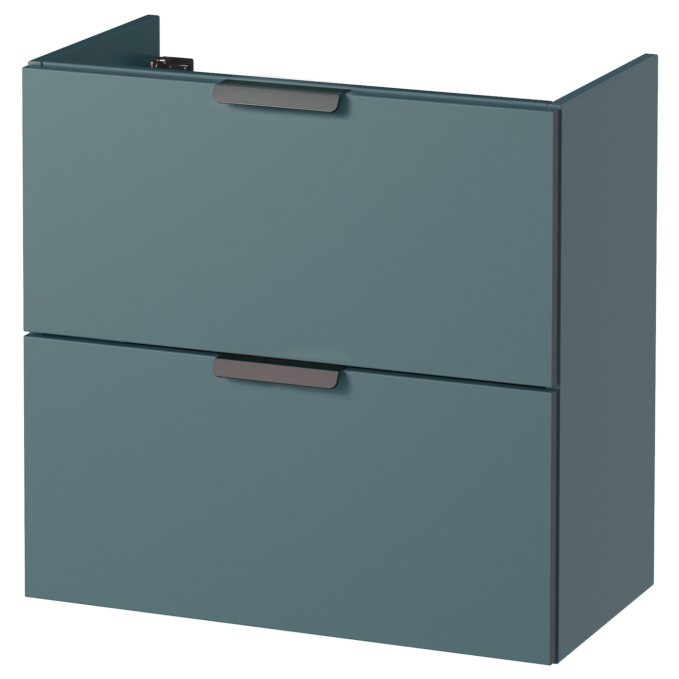 godmorgon meuble lavabo 2tir gris turquoise 60x32x58 cm ikea. Black Bedroom Furniture Sets. Home Design Ideas