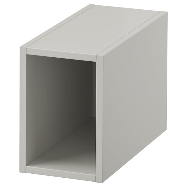 GODMORGON Rangement ouvert, Gillburen gris clair, 20x45x29 cm