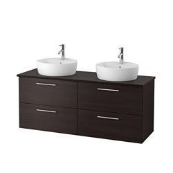 ikea meuble lavabo av lavabo poser with ikea meuble godmorgon. Black Bedroom Furniture Sets. Home Design Ideas