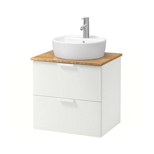 godmorgon tolken t rnviken meuble lavabo av lavabo poser 45 bambou blanc ikea. Black Bedroom Furniture Sets. Home Design Ideas