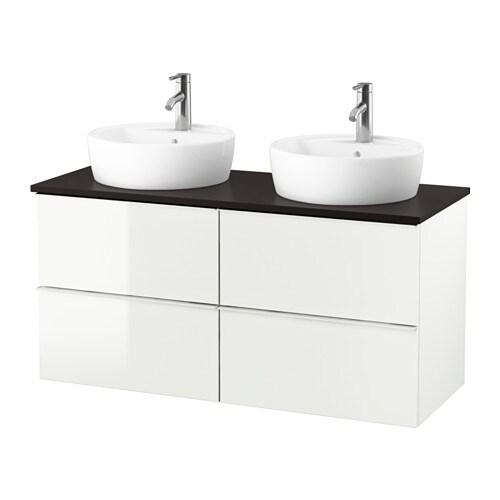 godmorgon tolken t rnviken meuble lavabo av lavabo poser 45 anthracite brillant blanc ikea. Black Bedroom Furniture Sets. Home Design Ideas