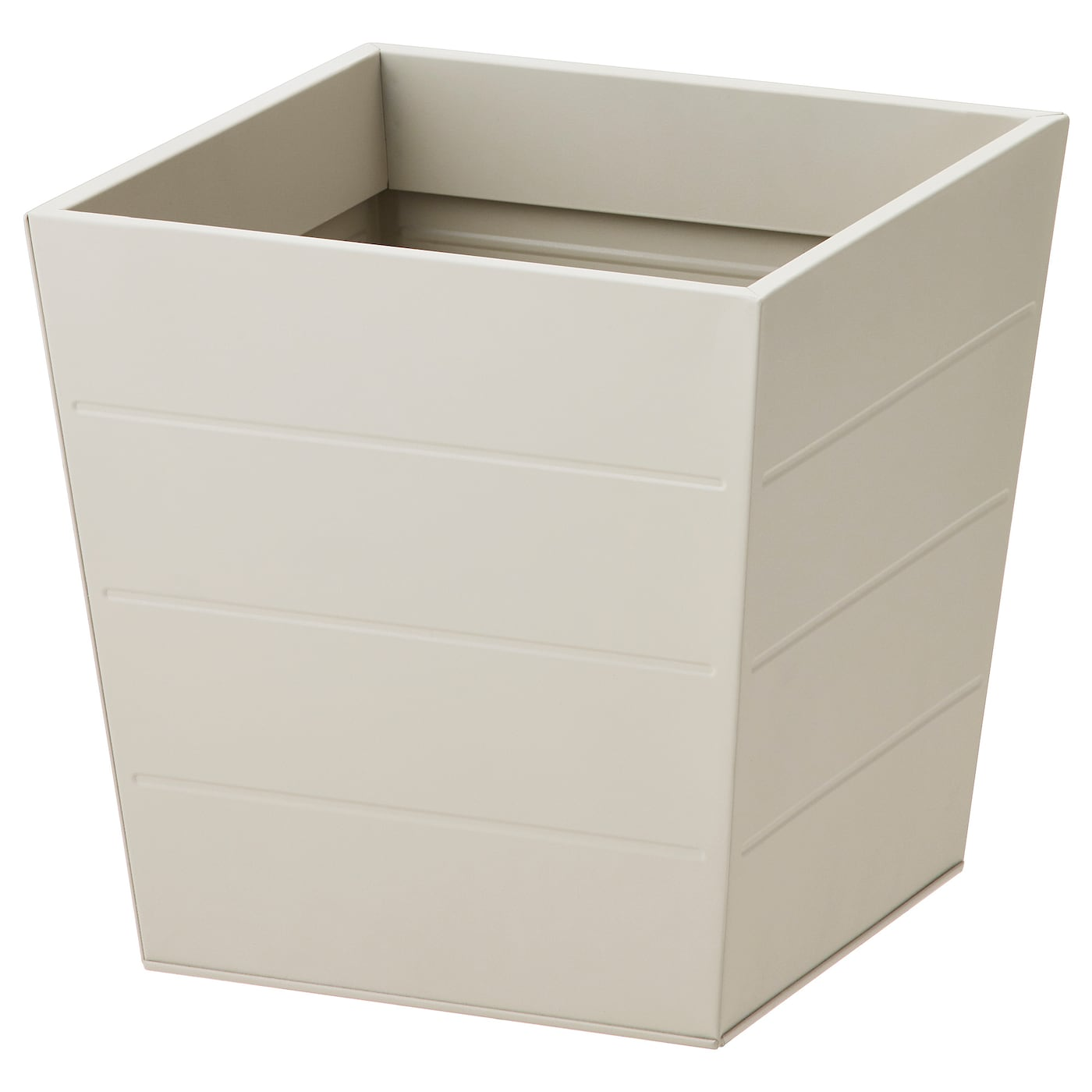 Gr set cache pot ext rieur beige 30x30 cm ikea for Cache pot exterieur
