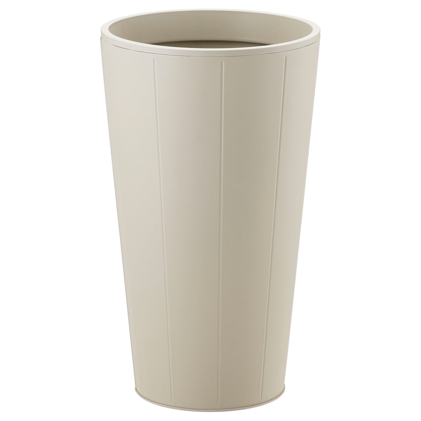 Gr set cache pot ext rieur beige 32 cm ikea for Cache pot exterieur